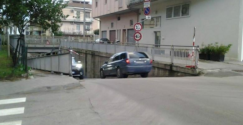 Sottopasso di via D'Annunzio