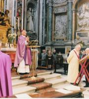 Un'edizione passata del Dies Natalis con l'ex vescovo Gervasio Gestori