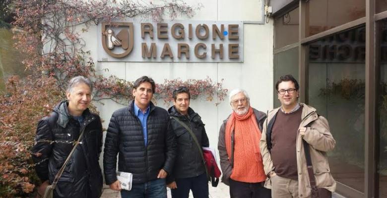 Vitali, Assenti, Bartolozzi, Mei e Spadoni ad Ancona