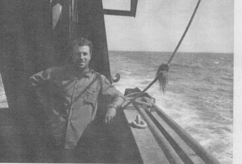 "Sul ""Pelagos"", oceano Atlantico, 1967"