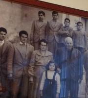 la famiglia Guidotti al completo: accanto ai due genitorii sette figli maschi ed una femmina che chiamarono Primavera. Sposò Rinaldo Olivieri, il più grande calciatore sambenedettese di tutti i tempi
