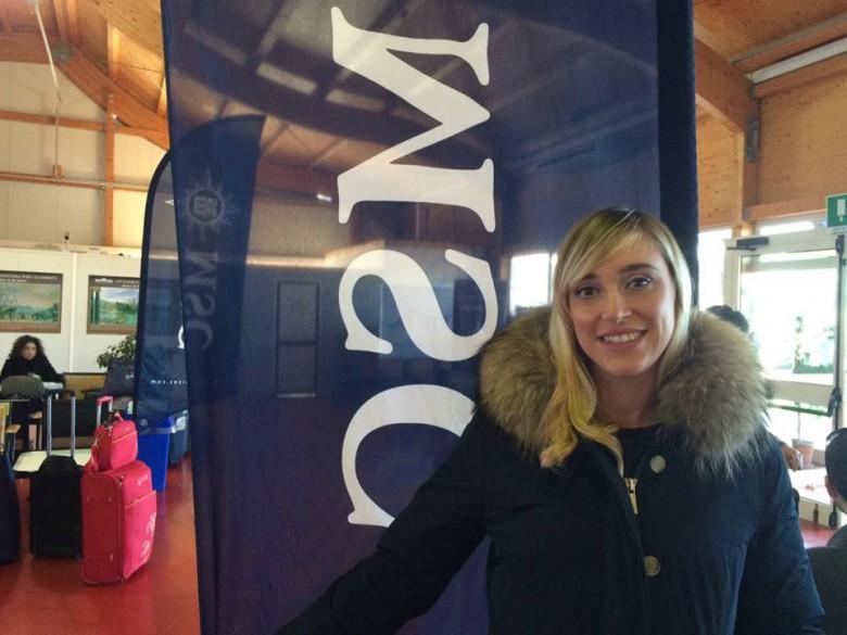 Alessia Liberati in partenza per Boat Academy