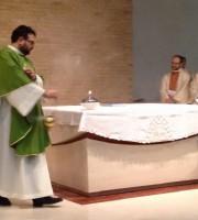 La prima Santa Messa officiata da don Dino Pirri nella Chiesa di Madonna della Speranza
