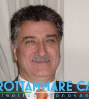 L'ex sindaco di Grottammare e neo presidente del Grottammare calcio Luigi Merli