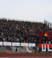 Tifosi della Samb a Macerata foto Bianchini