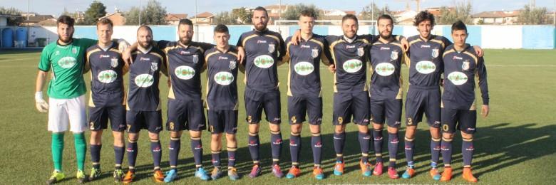 La formazione del Martinsicuro scesa oggi in campo contro la Torrese
