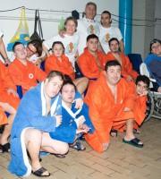 Gli atleti della Cavalluccio Marino