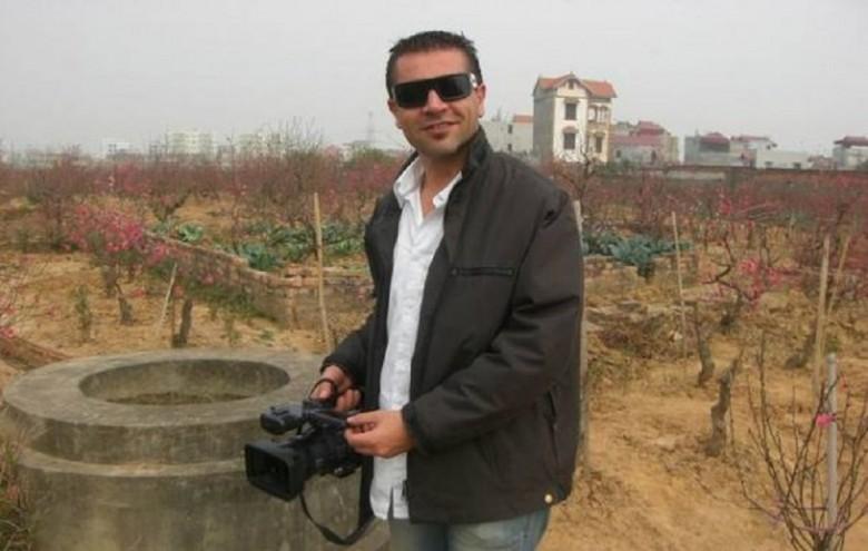 Demetrio Ferri ai tempi della sua permanenza in Vietnam