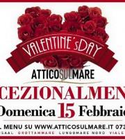 Festa di San Valentino all'Attico sul Mare