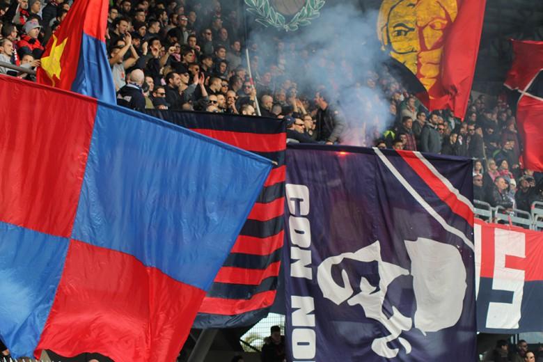 Tifosi della Samb contro la Civitanovese foto bianchini