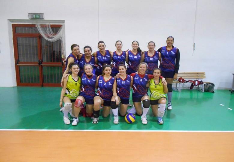 Le ragazze della Volley Angels