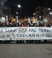 Ambiente e Salute nel Piceno durante la manifestazione contro lo stoccaggio del gas