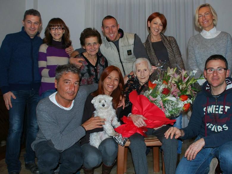Concetta Verdecchia compie 100 anni