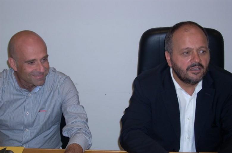 Eldo Fanini e Giovanni Gaspari