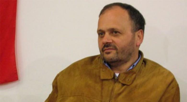 Giovanni Gaspari in una foto del 2006, suo primo anno da sindaco
