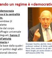 Giuseppe Guarino e la democrazia