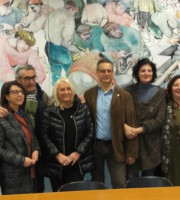 I responsabili e i medici del progetto Martina