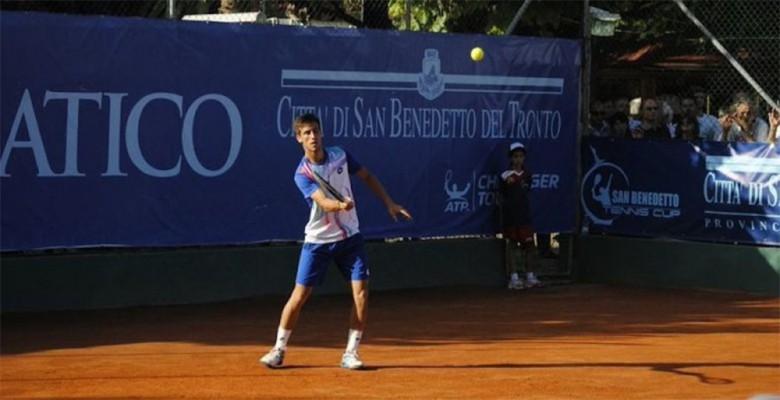 Il bosniaco Damir Dzumhur vince la San Benedetto Tennis Cup