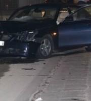 La macchina degli albanesi (foto della Polizia)