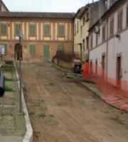 Lavori in via Del Consolato