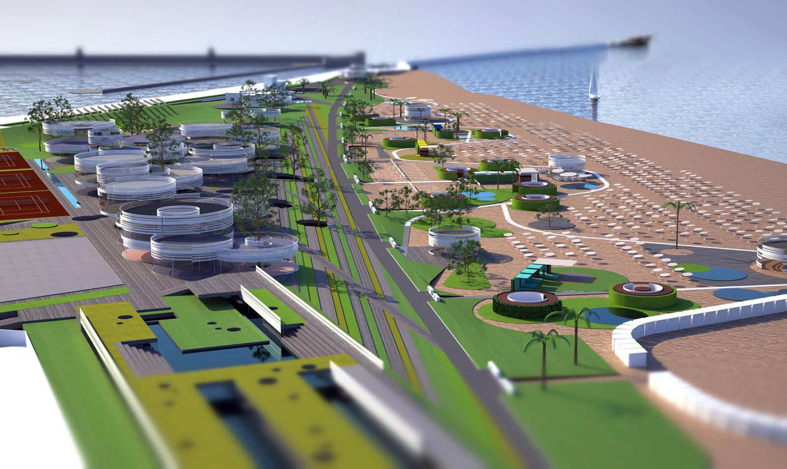 Rimini un lungomare proiettato al 2060 san benedetto for Progetto verde