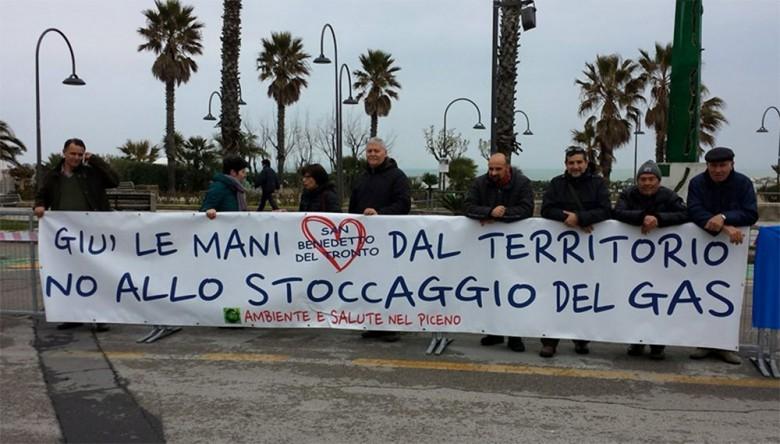 Tirreno-Adriatico, Ambiente e Salute nel Piceno contesta lo stoccaggio Gas Plus