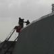 Vigili del fuoco allo stadio, 6 marzo