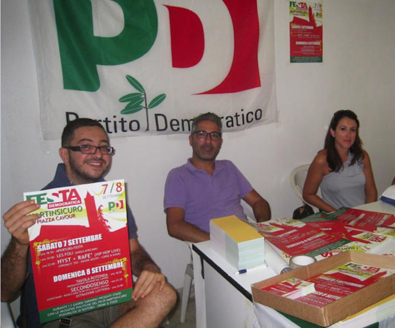 Giuseppe Capriotti, Andrea Buonaspeme ed Elisa Foglia