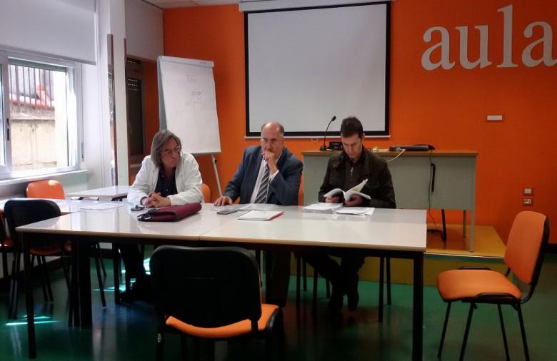 Da sinistra: Dino Giusti, Luciano Moretti e Andrea Piccinini della Cimo