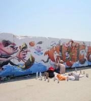 I due street artists spagnoli