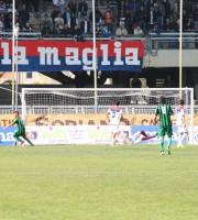 Il primo gol dei neroverdi teatini