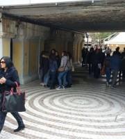 Il sottopasso di Viale Moretti riaperto al passaggio pedonale sabato 4 aprile
