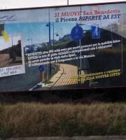 Manifesti del Comune di San Benedetto nel 2013, l'Agcom multò l'ente per propaganda in periodo elettorale su esposto di Rifondazione Comunista