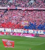Tifosi Samb col Bayern Monaco (foto Fb Samb Calcio)