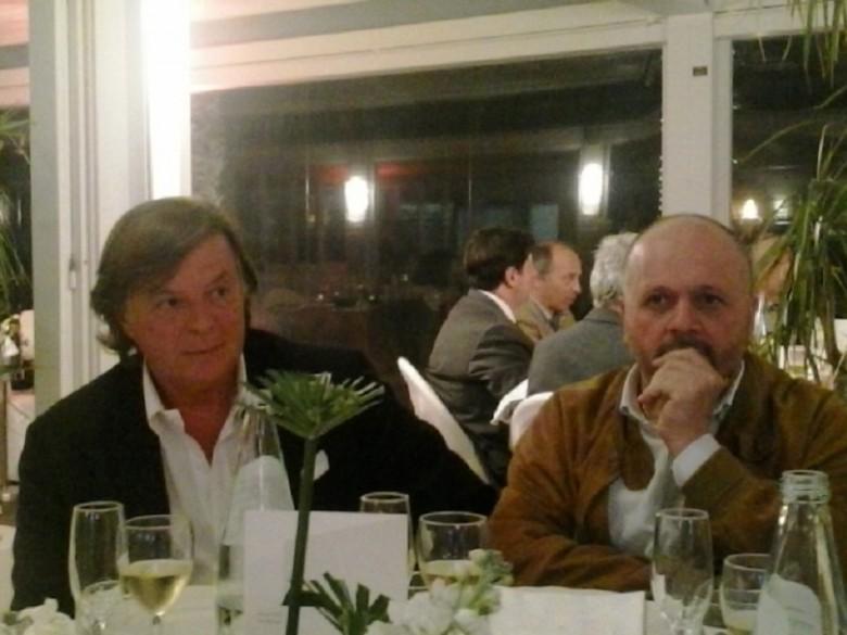 Adriano Panatta e Giovanni Gaspari