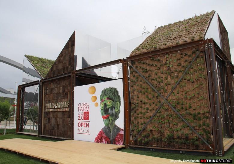 Il padiglione dell'Expo disegnato da Eusebi