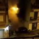 Incendio nella notte in via Piemonte