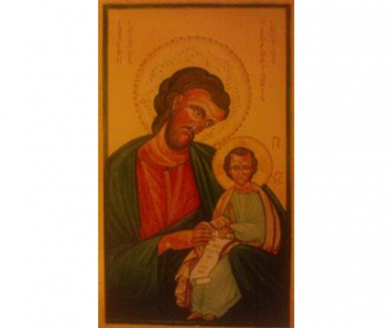 L'icona di San Giuseppe rubata alla parrocchia di Santissima Annunziata