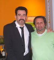 La iena Pelazza con Antonio Lattanzi