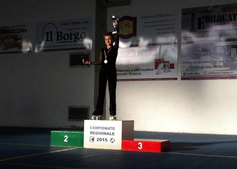 Paci Nicolò - Campione Regionale 2015 cat Novizi Uisp