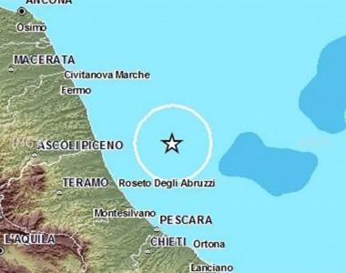 Terremoto al largo di Martinsicuro il 29 maggio