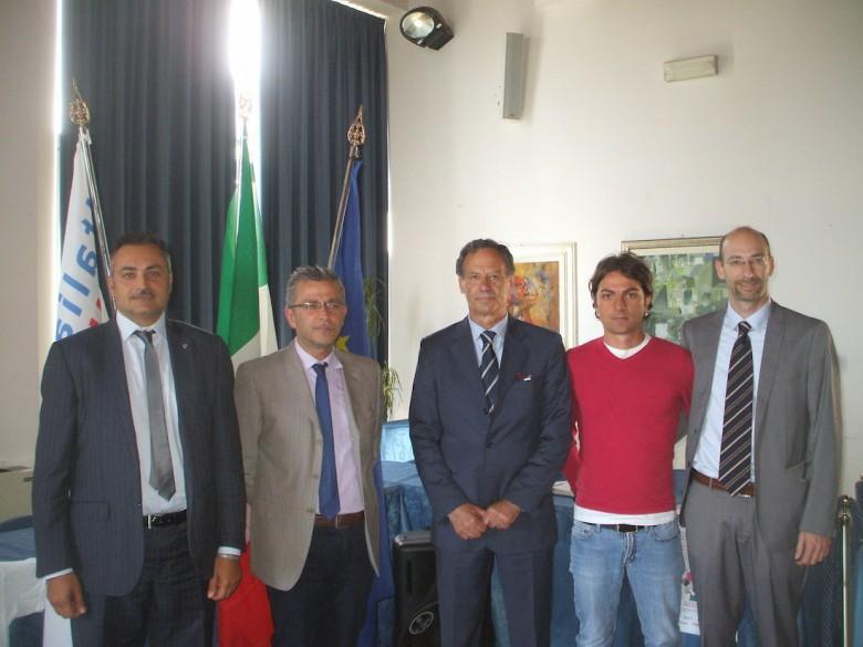 la conferenza stampa di presentazione dell'evento