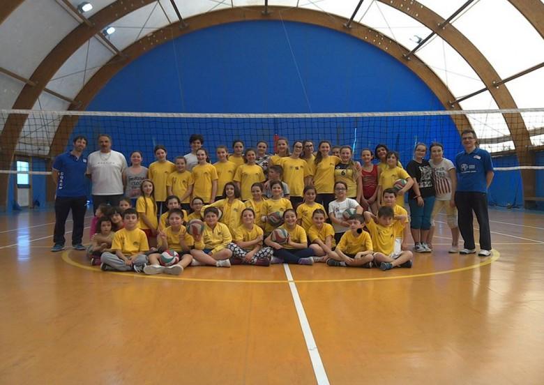 i giovani della 43° Parallelo Volley