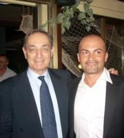 Mirko Canala con l'avvocato Taormina