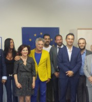 I presidenti, i direttori e i delegati al turismo di Confesercenti, CNA, Confindustria e Confagricoltura della provincia di Ascoli