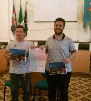 Il Presidente della Pro Loco, Pino Neroni, e Assessore al Turismo, Luca Vagnoni