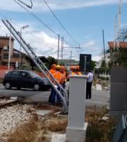 Disagi alla circolazione stradale e dei treni, 17 giugno