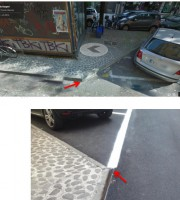 Viale De Gasperi, prima e dopo