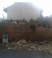 Muro crollato al porto, 13 giugno (foto di Emanuele Verdecchia)