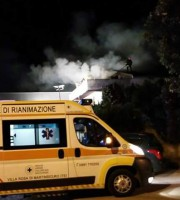 incendio in via dell'industria a Martinsicuro